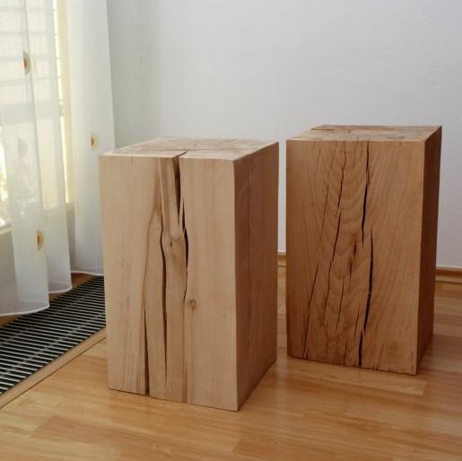Dřevěné hranoly