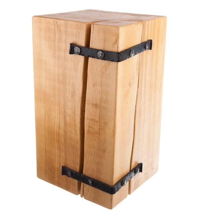 drevena-stolicka-z-masivu-s-kovanim