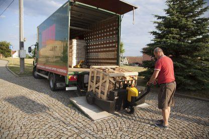 Komfortní doprava palivového dřeva