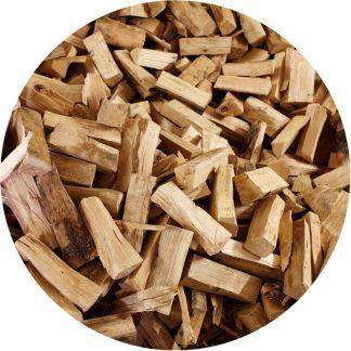 sypané palivové dřevo